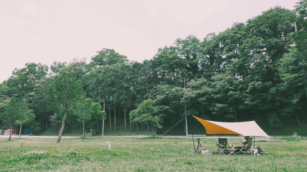 ムササビウイングでデイキャンプ