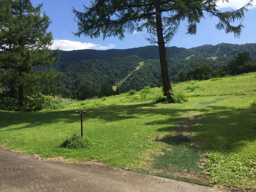 舞子高原オートキャンプ場A6サイト