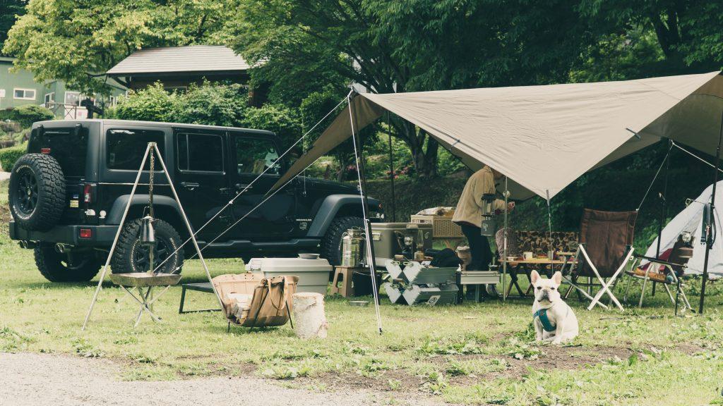 DDタープでキャンプ